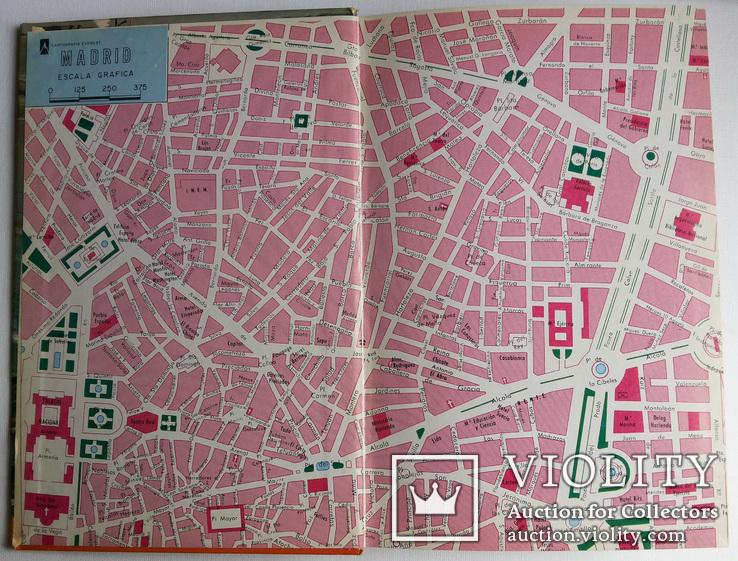 Мадрид путеводитель карта Everest 1969, фото №3