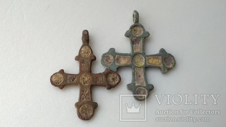 Крестики КР в эмалях