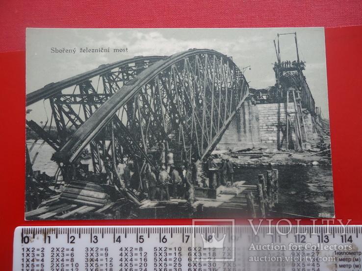 Чернівці вид зруйнований міст росіянами, фото №2