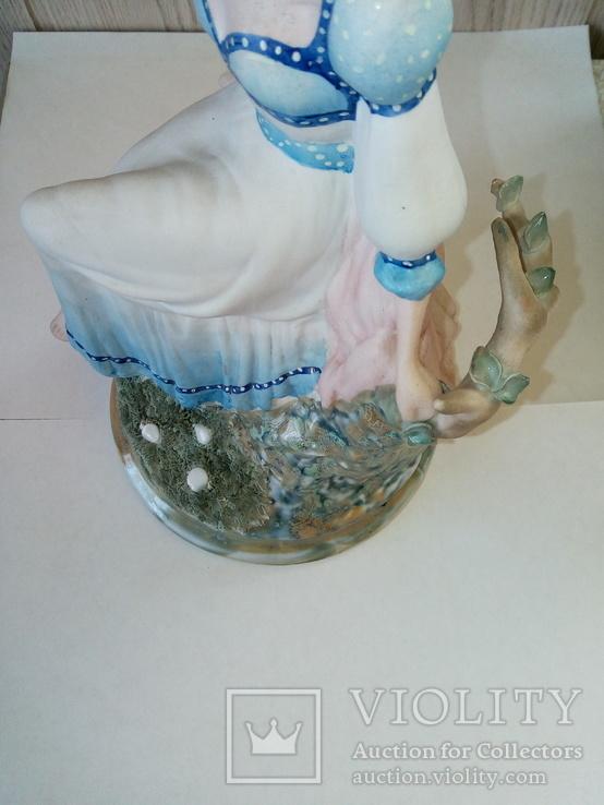 Белоснежка , Фарфоровая статуэтка Alba-Iulia Porzellan Румыния, РЕДКАЯ, фото №4