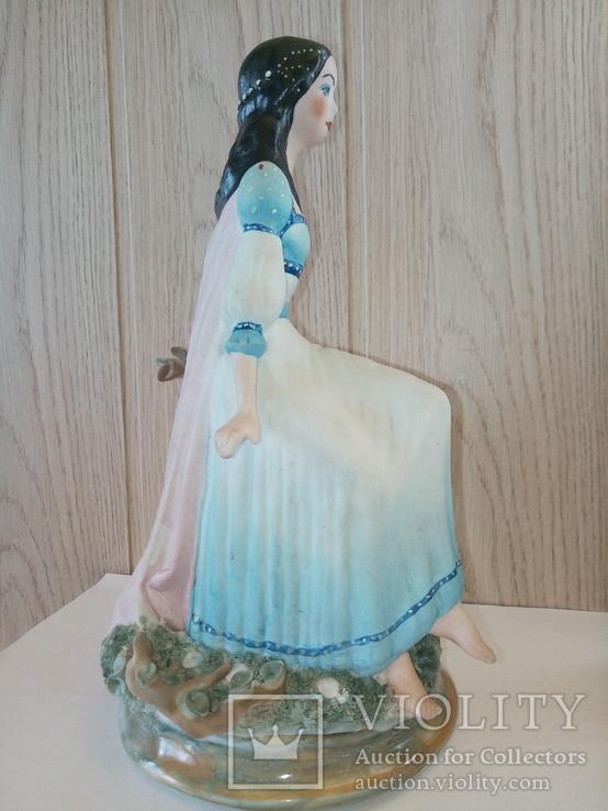 Белоснежка , Фарфоровая статуэтка Alba-Iulia Porzellan Румыния, РЕДКАЯ, фото №11