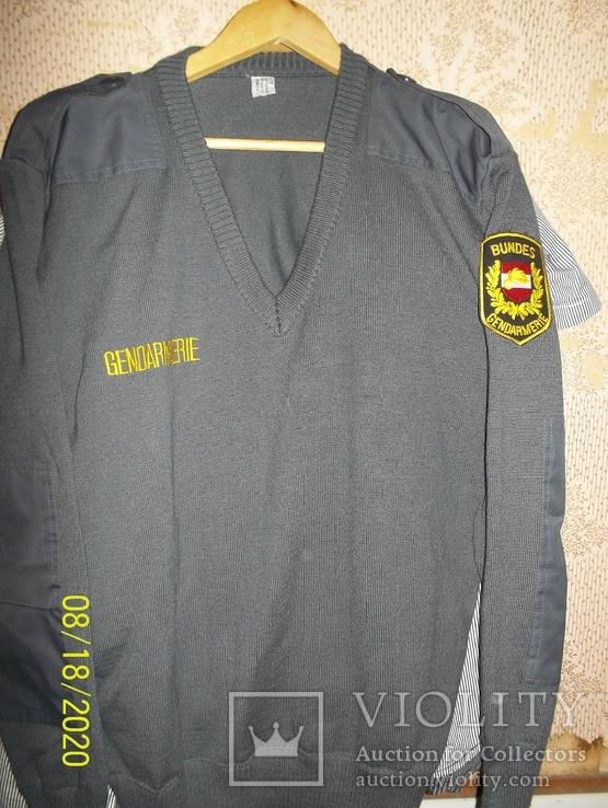 Униформа   австрийской  жандармерии., фото №2
