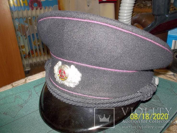 Фуражка офицера  пожарной полиции  гдр., фото №8