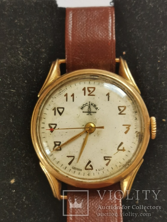 Часы наручные Москва типа 51-ЧН, фото №3