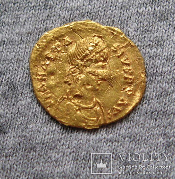Тремисс. Анастасий ( 491-518 гг. ). Чекан Константинополь., фото №5