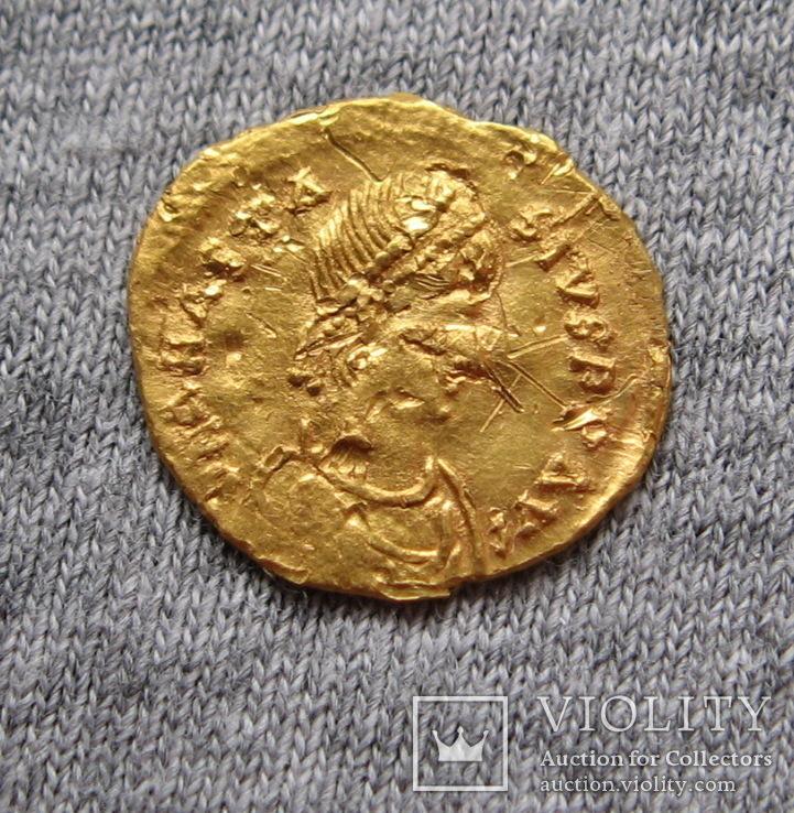 Тремисс. Анастасий ( 491-518 гг. ). Чекан Константинополь., фото №7
