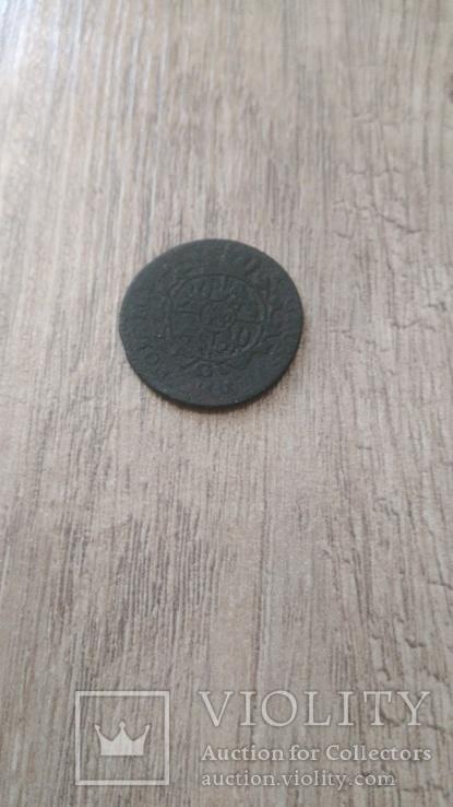 Монета 1767 года Польша, фото №3