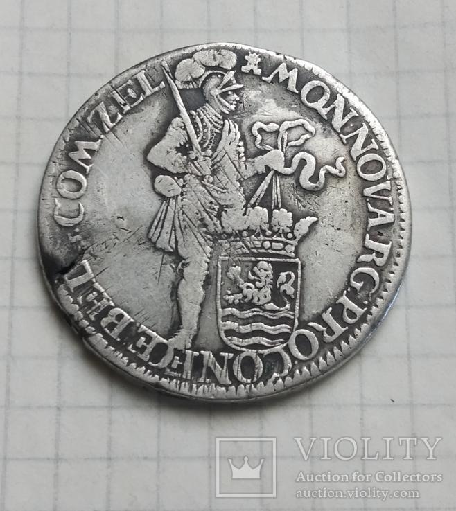 Зеландия (Нидерланды) 1 Талер (ЗильберДукат) 1672 год.