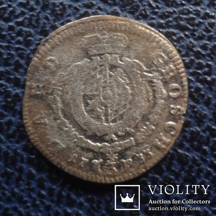 3  крейцера  1733  Бавария  серебро   ($11.1.29)~, фото №4