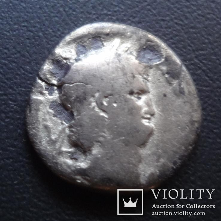 Денарий  Нерон серебро  ($5.2.1)~, фото №2