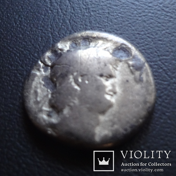 Денарий  Нерон серебро  ($5.2.1)~, фото №3