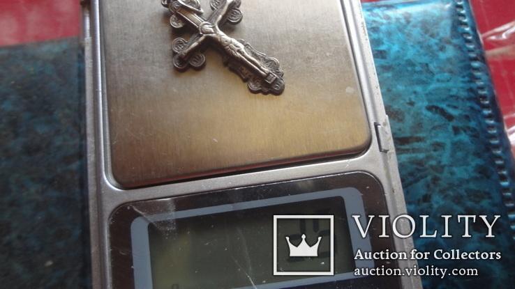 Крестик серебро (10.9.3), фото №5