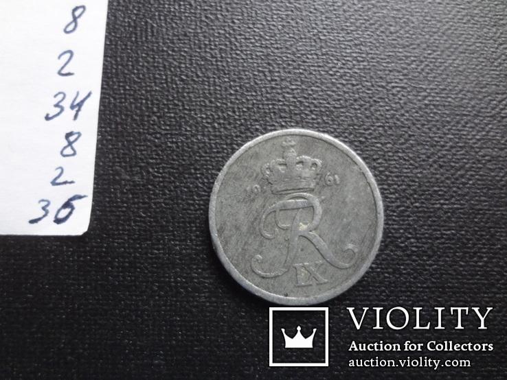 2 эре 1961 Дания     (8.2.36)~, фото №2