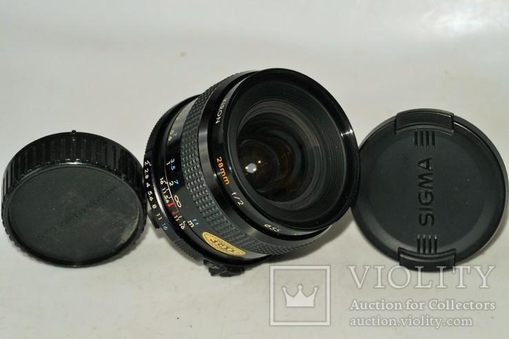 Kiron 2/28 mm Kino Precision для Minolta MD, фото №2