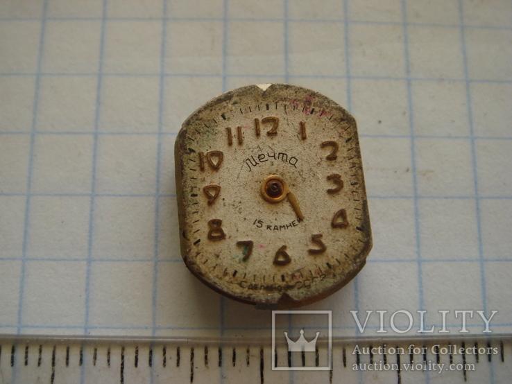 Механизм с циферблатом к часам  Мечта, фото №2