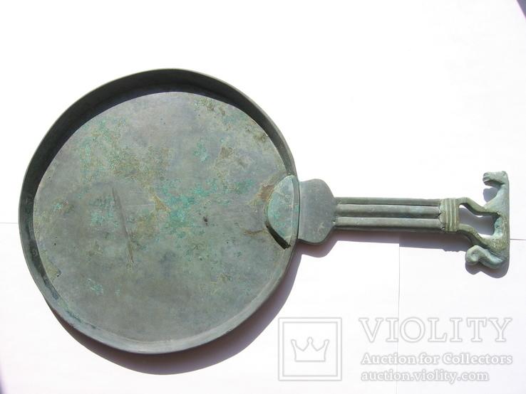 Зеркало Ольвийская патера для скифии в зверином стиле-Пантера-4-5век до н.э