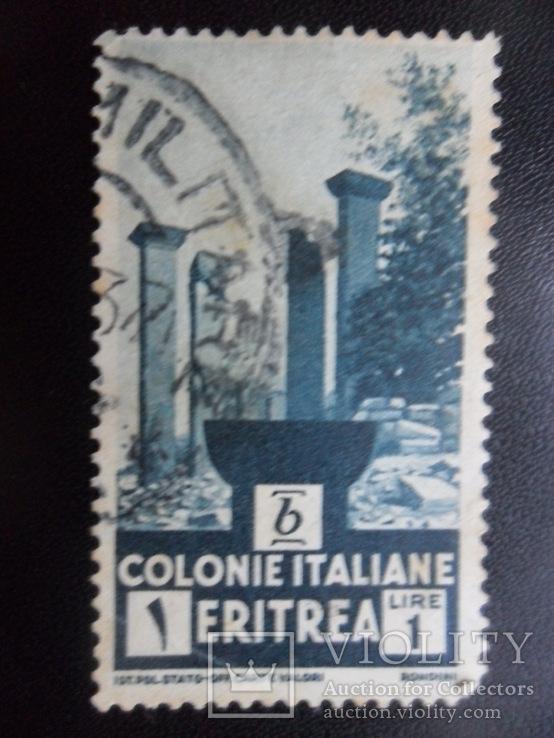 Колонии Италии. Эритрея.  гаш