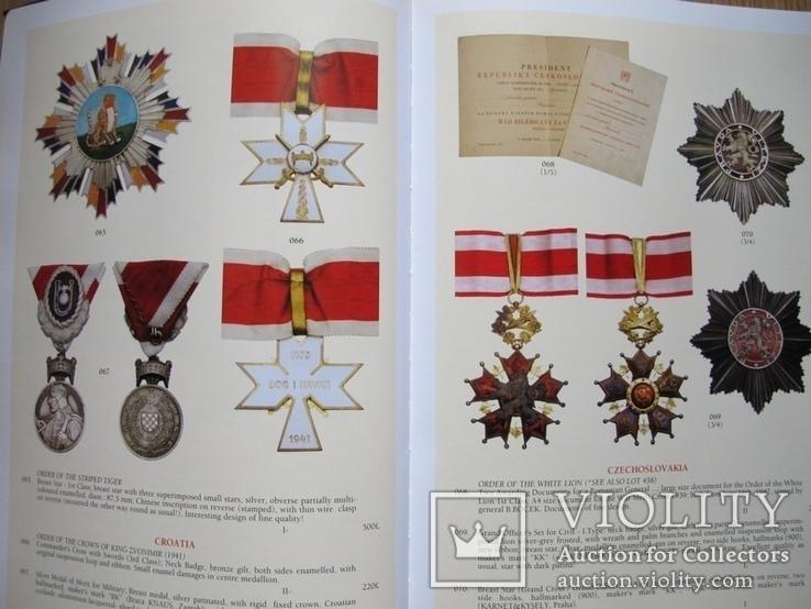 Ордена и медали стран мира.Аукционник VI, фото №10