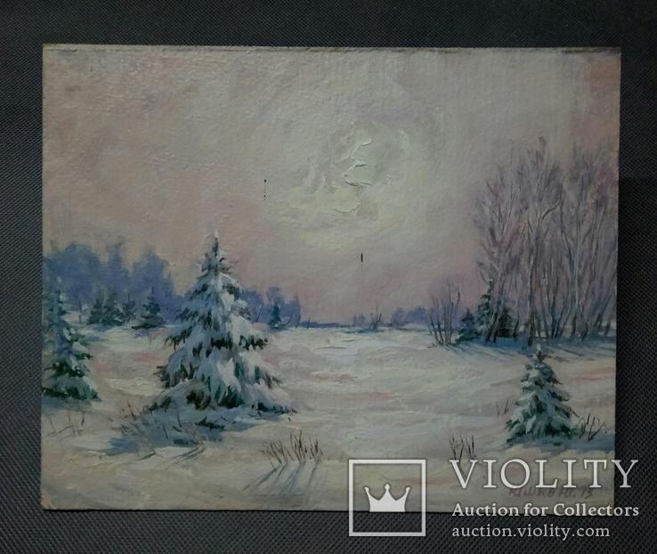Зимний пейзаж, фото №3
