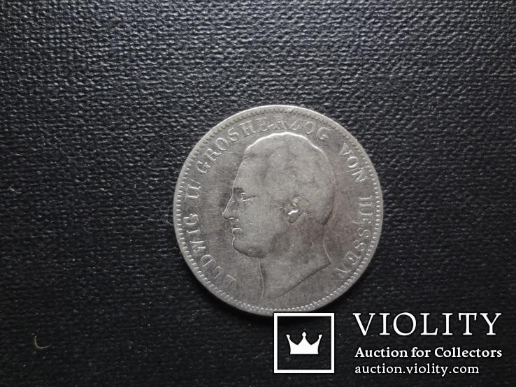 1/2 гульдена 1841 Гессен серебро (О.2.22)~, фото №4