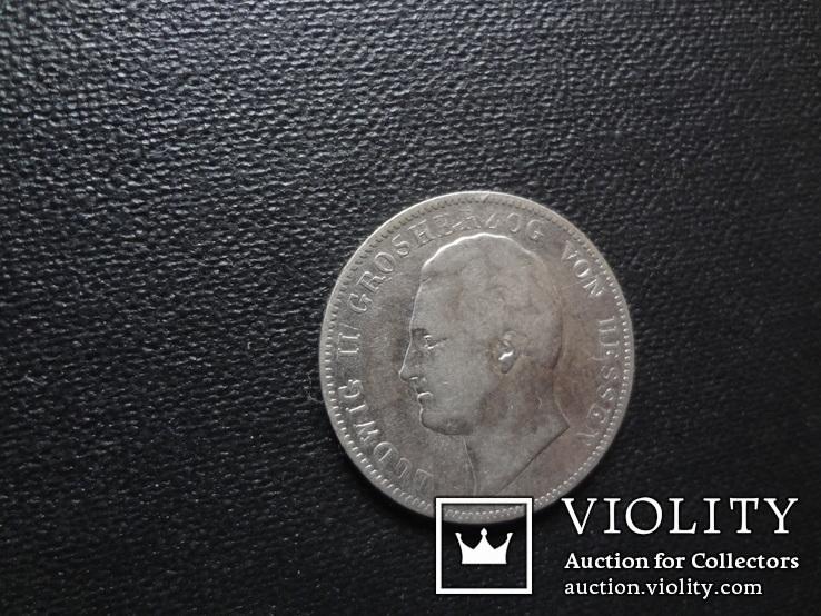 1/2 гульдена 1841 Гессен серебро (О.2.22)~, фото №6
