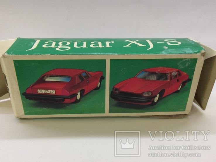 Машинка модель Ягуар XJ - S 1:25 инерционная, фото №11