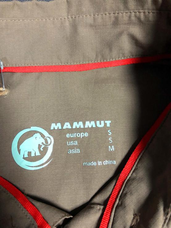 Тенниска - Mammut - размер S, фото №6