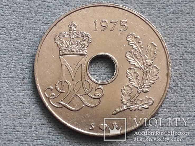 Дания 25 эре 1975 года, фото №3