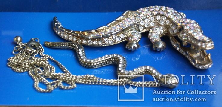 Змія. Крокодил, фото №2