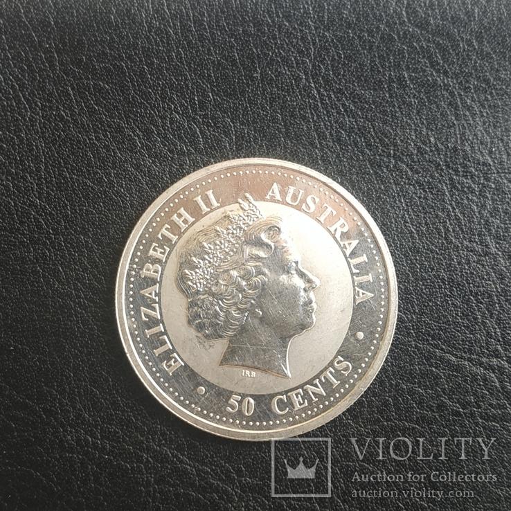 50 центов, cents Elizabeth 2, Australia 2003г., фото №2