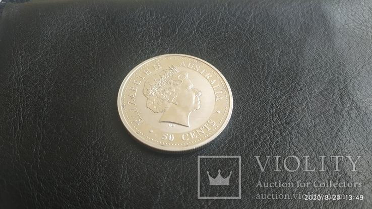 50 центов, cents Elizabeth 2, Australia 2003г., фото №3