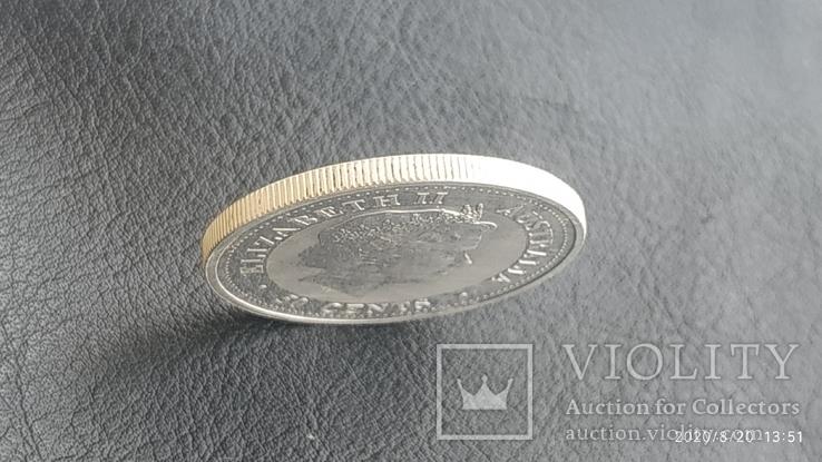 50 центов, cents Elizabeth 2, Australia 2003г., фото №6