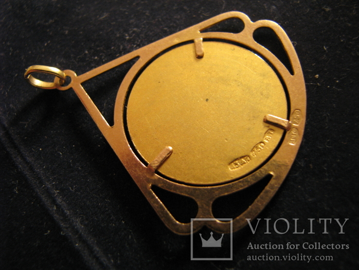 """Кулон """"Победа"""" Золото 750.Франция., фото №5"""