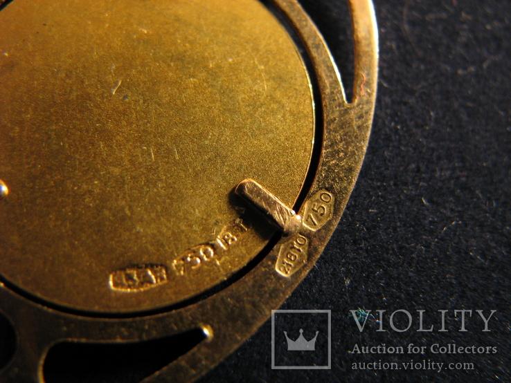 """Кулон """"Победа"""" Золото 750.Франция., фото №6"""