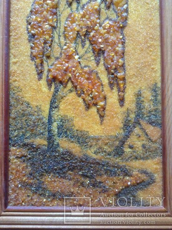 Картина Дерево. Янтарь., фото №5