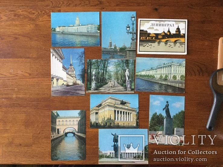 СССР Набор фото открыток Ленинград 1977 года, фото №4