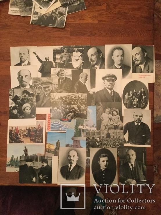 Открытки с изображением Ленина, фото №3