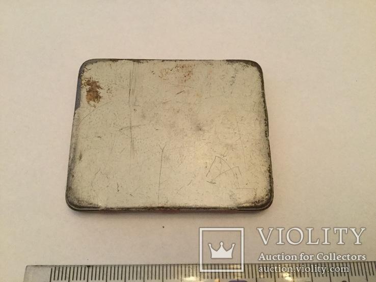 Старинная 1945 г. Металлическая таблетница от пирамидона, фото №5