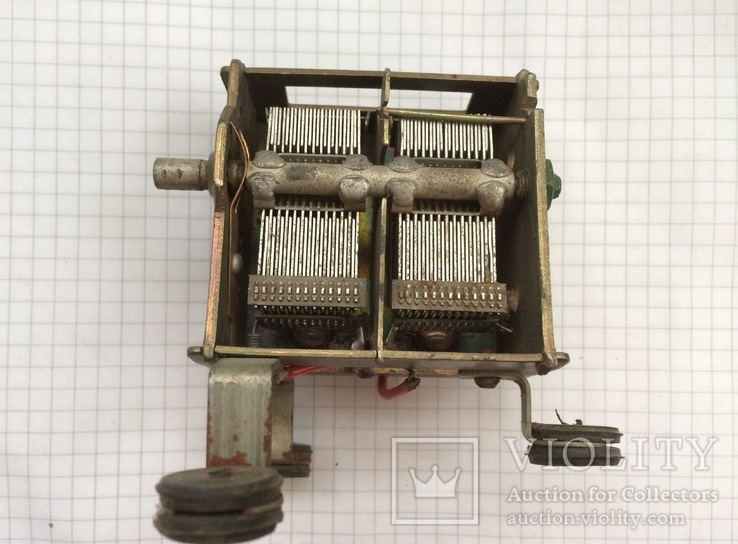 Конденсатор переменной ёмкости, фото №2