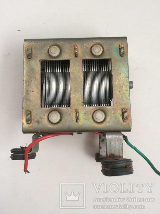 Конденсатор переменной ёмкости, фото №6