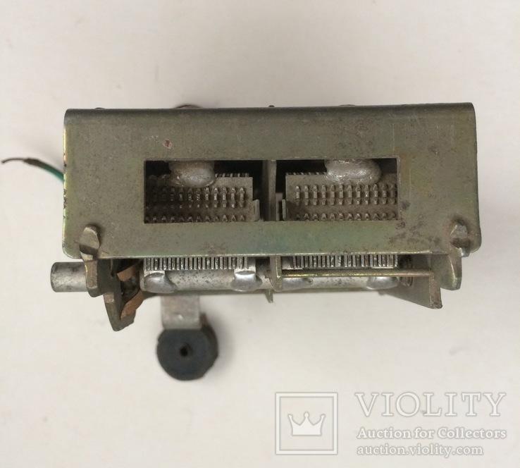 Конденсатор переменной ёмкости, фото №7