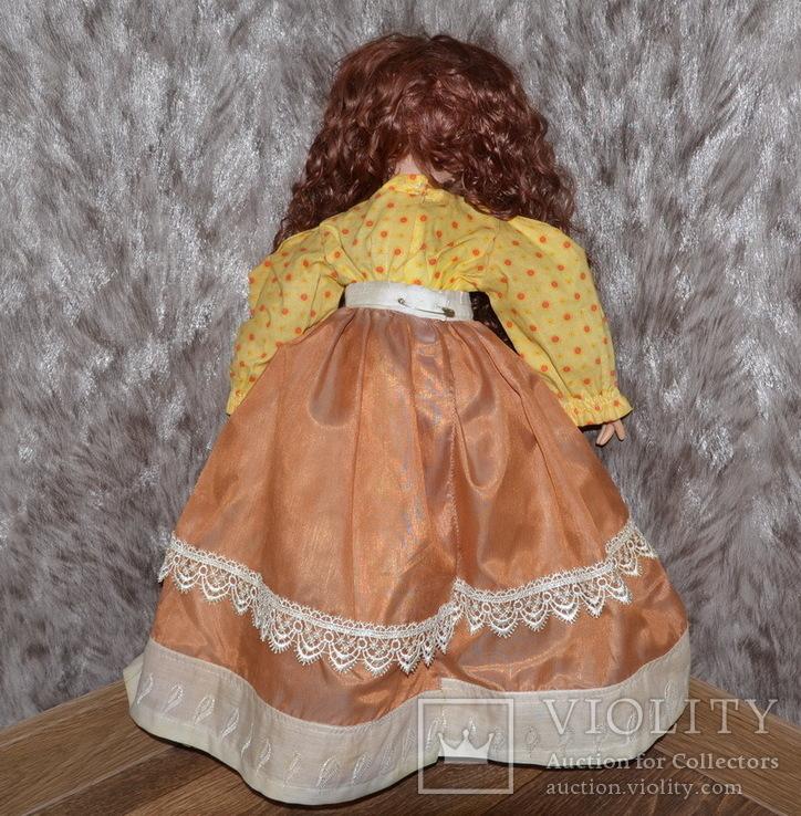 Большая (65см.) номерная фарфоровая кукла NJSF. Тяжёлая., фото №4