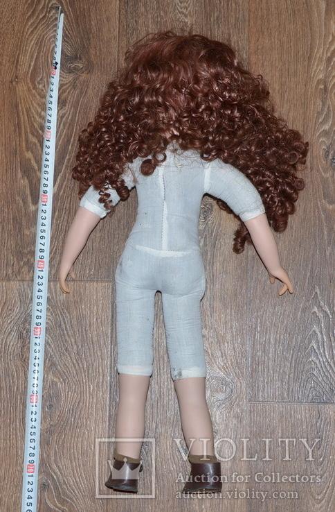 Большая (65см.) номерная фарфоровая кукла NJSF. Тяжёлая., фото №12