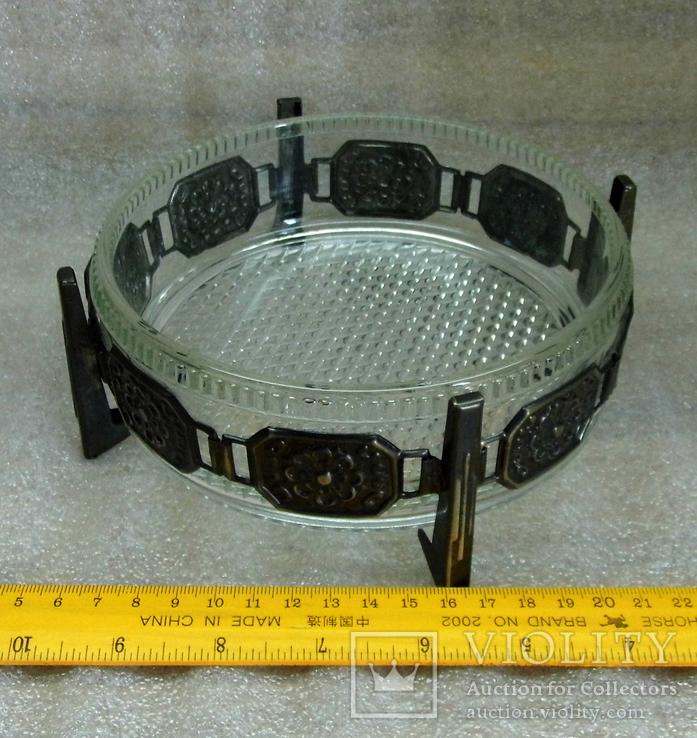 Хрустальная конфетница ссср, фото №4