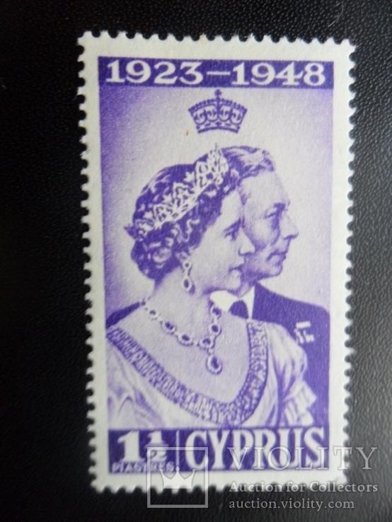 Британские колонии. Кипр. 1949 г.  MH, фото №2