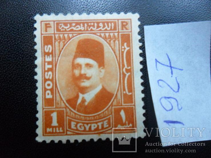 Британские колонии. Египет. 1927 г.  MH, фото №2