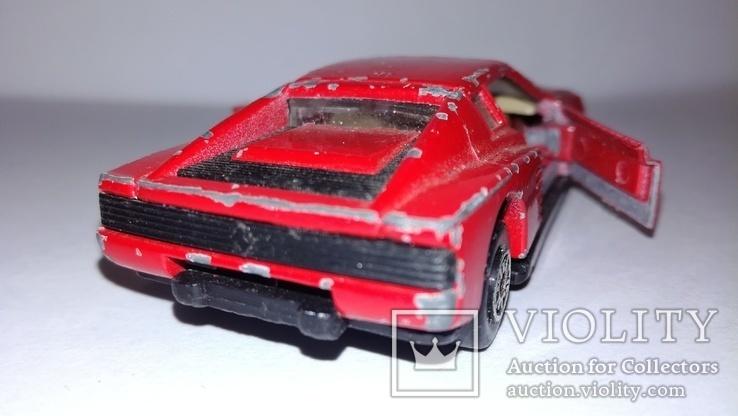 MC Toy Ferrari Testarossa Macau, фото №3