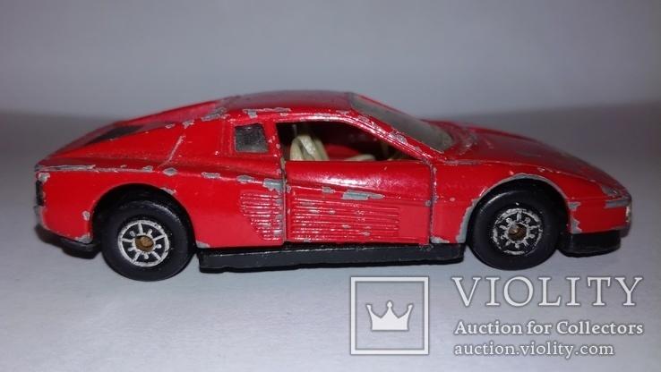 MC Toy Ferrari Testarossa Macau, фото №6