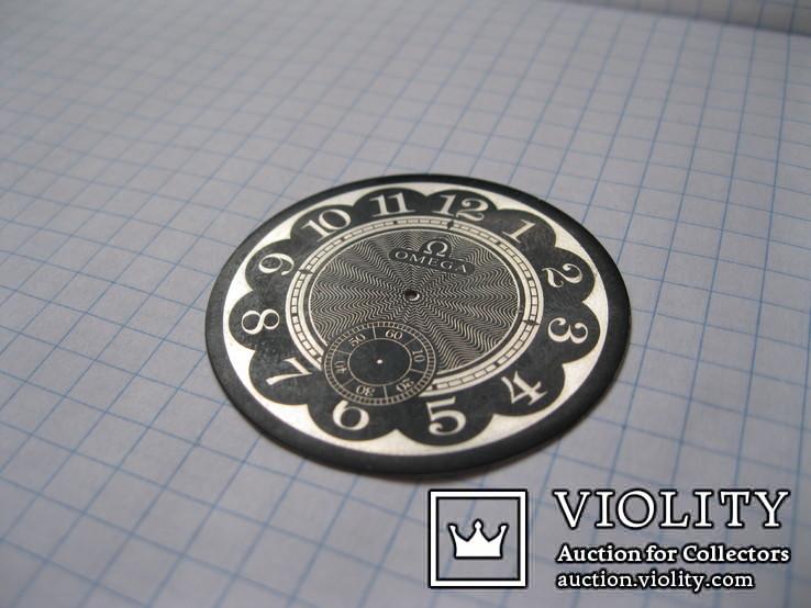 Циферблат на Omega, фото №4