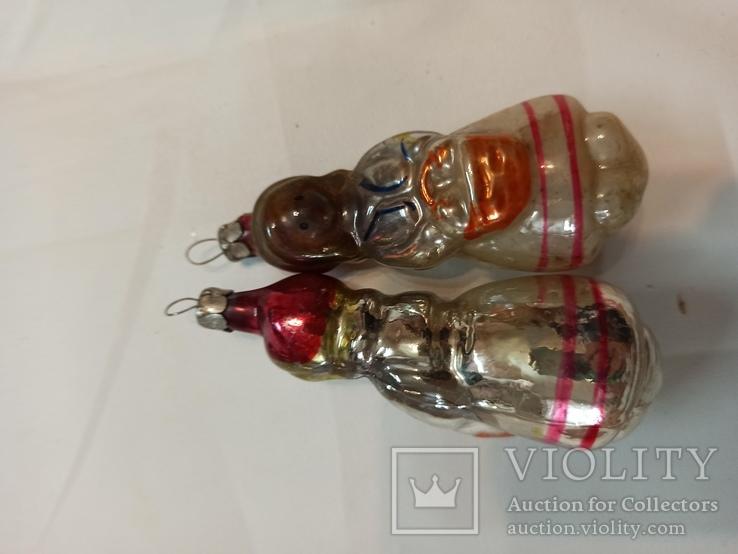 Елочная игрушка СССР красная шапочка+ бой в подарок, фото №5